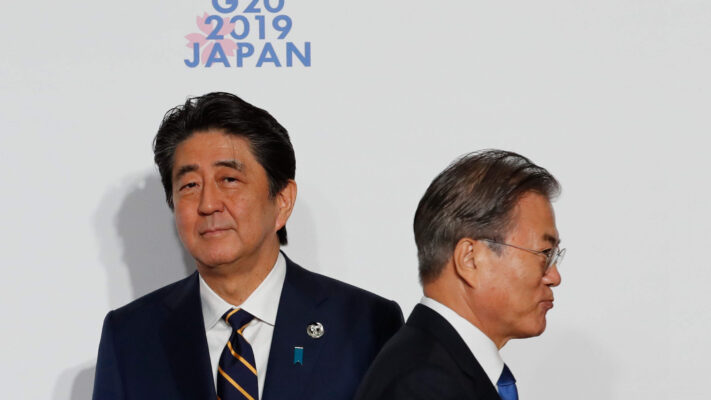 The rift between South Korea and Japan - who share a colonial history - has widened due to a new spat over trade restrictions.