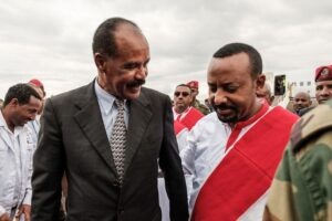 Prime Minister Abiy's closeness with Eritrea President Isaias threatens the Tigray party